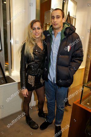 Alice Dellal and Alex Dellal