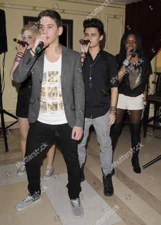 Hollie McKinlay, Eyal Booker, Jack Morlen and Cherelle Williams - Ever Young