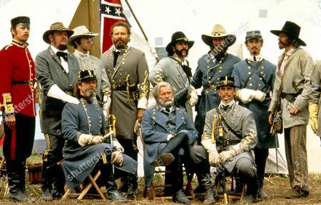Gettysburg,  Stephen Lang,  Royce Applegate,  Richard Jordan,  Martin Sheen,  Tom Berenger