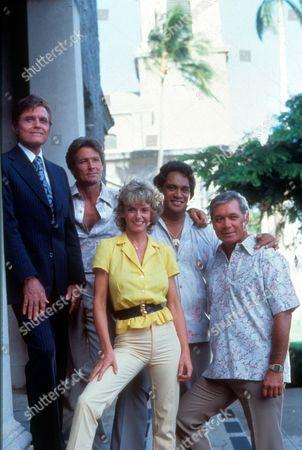 Hawaii 5-o ,  Jack Lord,  William Smith,  Sharon Farrell,  Moe Keala