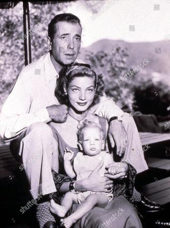 Humphrey Bogart ,  Humphrey Bogart,  Lauren Bacall,  Stephen Bogart