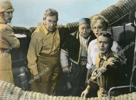 Five Weeks In A Balloon,  Richard Haydn,  Peter Lorre,  Barbara Luna,  Red Buttons