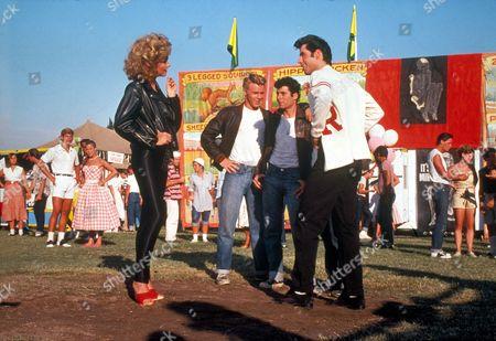 Grease,  Olivia Newton-john,  Kelly Ward,  Barry Pearl,  John Travolta