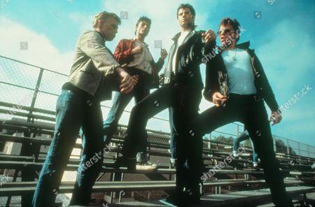 Grease,  Kelly Ward,  Barry Pearl,  John Travolta,  Jeff Conaway