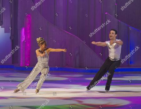 Editorial image of 'Dancing on Ice' TV Programme, Elstree Studios, Britain. - 05 Feb 2012