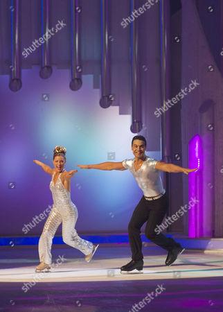 Editorial photo of 'Dancing on Ice' TV Programme, Elstree Studios, Britain. - 05 Feb 2012