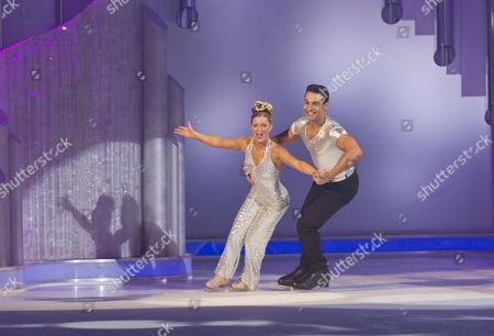 Stock Photo of Chico Slimani and Phillipa Towler Green
