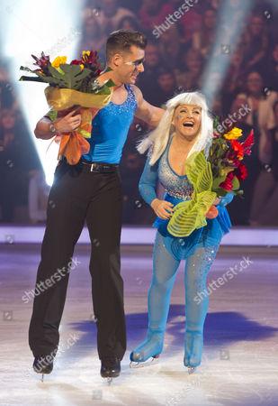 Charlene Tilton and Matt Gonzalez