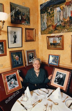 Elena Salvoni At Elena's L'etoile Restaurant