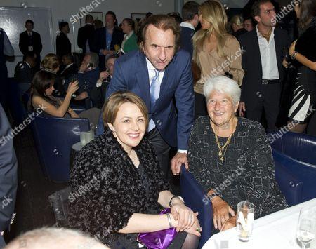 Dame Tanni Grey-Thompson, Emerson Fittipaldi and Dawn Fraser