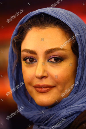 """Stock Picture of Shaghayegh Farahani at the """"Without the Goodbye"""" film press conference"""