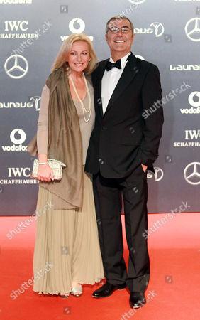 Sabine Christiansen and husband Norbert Medus
