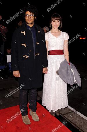 Richard Ayoade and Lydia Fox