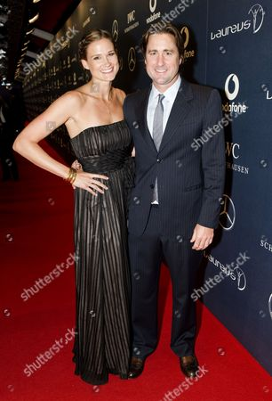 Meg Simpson and Luke Wilson
