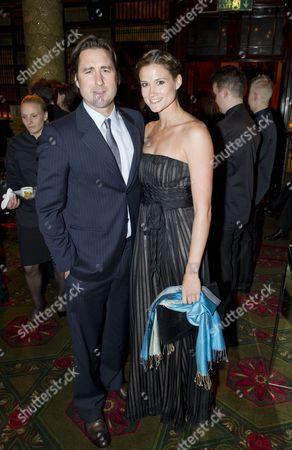Stock Image of Luke Wilson and Meg Simpson