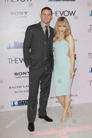 Stock Image of Channing Tatum and Rachael McAdams