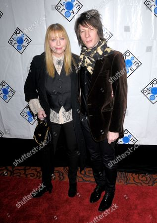 Stock Image of Bebe Buell and Jim Wallerstein