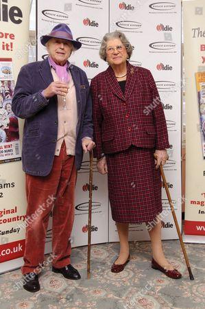 Sir Peregrine Worsthorne and Baroness Trumpington