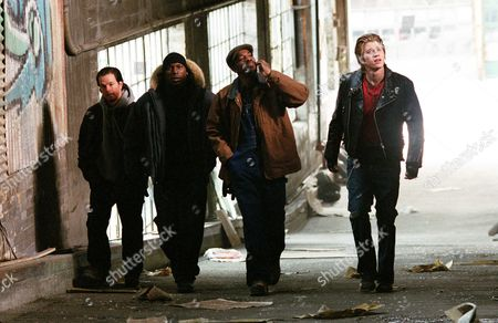 Four Brothers,  Mark Wahlberg,  Tyrese Gibson,  Andre Benjamin,  Garrett Hedlund