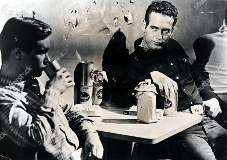 Hud,  Brandon De Wilde,  Paul Newman