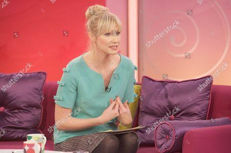 Editorial image of 'Lorraine Live' TV Programme, London, Britain - 08 Feb 2012