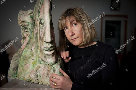Jane McAdam Freud with her 2010 piece entitled 'Mm & Mm'