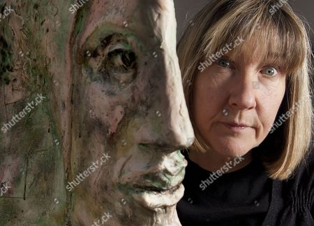 Editorial picture of Jane McAdam Freud at her studio in Harrow, London, Britain - 03 Feb 2012