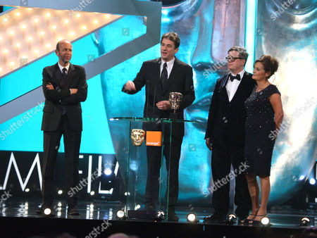 Eric Fellner, Tomas Alfredson, Tim Bevan and Robyn Slovo, Outstanding British Film.,
