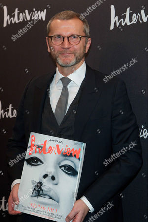 Editorial image of Interview Magazine launch, Berlin, Germany - 08 Feb 2012