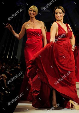 Jenna Elfman and Jeannette Torres-Alvarez