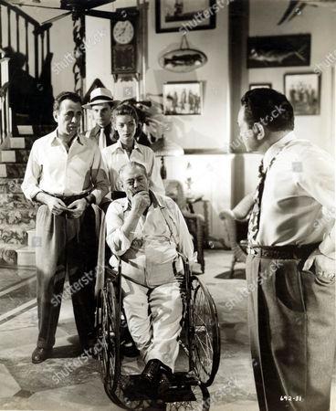 Key Largo,  Humphrey Bogart,  Lauren Bacall,  Lionel Barrymore,  Edward G Robinson