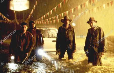 Hard Rain,  Michael Goorjian,  Ricky Harris,  Morgan Freeman,  Dan Floreck