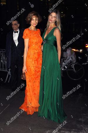Stock Picture of Natalia Andrade and Chloe Bello