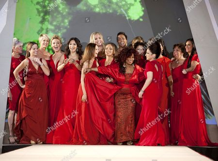 Editorial image of The Heart Truth's Red Dress Collection 2012 Fashion Show, New York, America - 08 Feb 2012