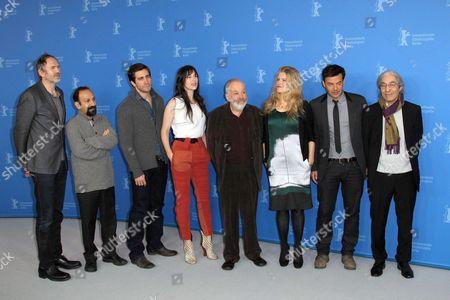 Anton Corbijn, Jake Gyllenhaal, Charlotte Gainsbourg, Mike Leigh, Barbara Sukowa, Francois Ozon, Asghar Farhadi and Boualem Sansal