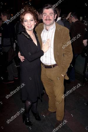 Katherine Parkinson (Diana) and Harry Peacock