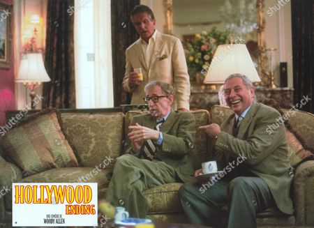 Stock Picture of Hollywood Ending,  George Hamilton,  Woody Allen,  Mark Rydell