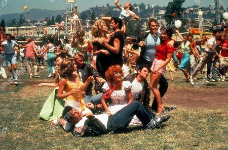 Grease,  Olivia Newton-john,  John Travolta,  Jeff Conaway,  Stockard Channing,  Jamie Donnelly,  Dinah Manoff,  Kelly Ward,  Didi Conn,  Barry Pearl,  Michael Tucci
