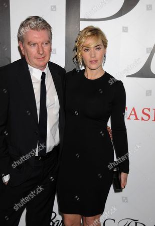 Stock Image of St. John Creative Director, George Sharp and Kate Winslet
