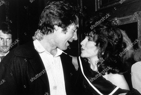 TIMOTHY DALTON AND JOAN COLLINS