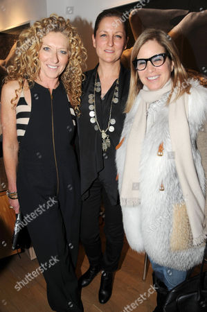 Editorial picture of Louise Bobbe 'Behind Closed Doors' exhibition launch party at Richard Young Gallery, London, Britain - 09 Feb 2012
