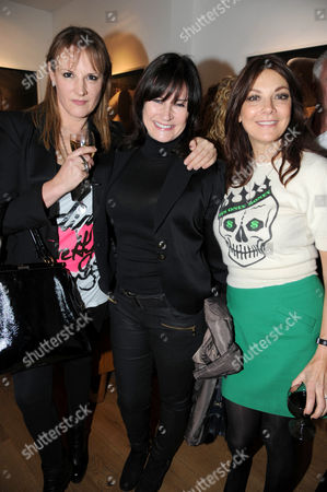 Stock Photo of Caroline Shapiro, Miranda Davies, Susan Young