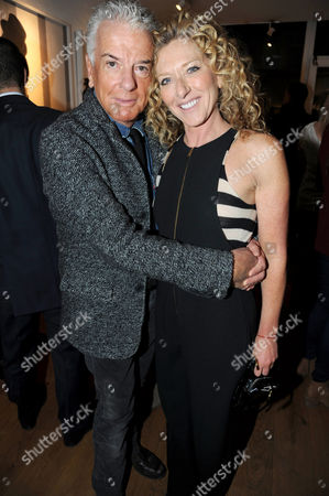 Editorial image of Louise Bobbe 'Behind Closed Doors' exhibition launch party at Richard Young Gallery, London, Britain - 09 Feb 2012