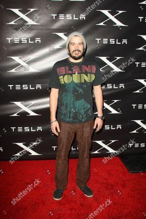 Editorial photo of Tesla Motors Launch Model X at Tesla Design Studios, Los Angeles, America - 09 Feb 2012