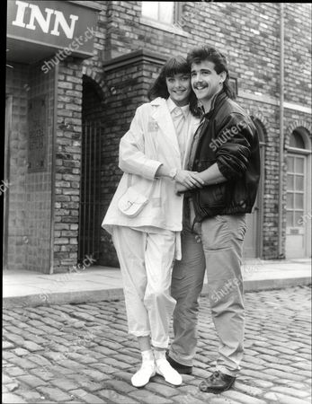 Editorial photo of Stephanie Tague And Michael Le Vell Actors From Tv Programme Coronation Street 1985.