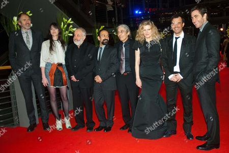 Anton Corbjn, Charlotte Gainsbourg, Mike Leigh, Asghar Farhadi, Boualem Sansal, Barbara Sukowa, Francois Ozon, Jake Gyllenhaal