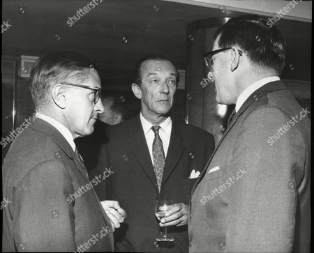 New Air France Caravelle Service: Marseilles - Paris - London. Mr Alexander Hermann (left) With Mr James Fenton. Madame Susan Schlegelmilch (formerly Susan Travers) The Only Woman To Ever Serve In The French Foreign Legion.