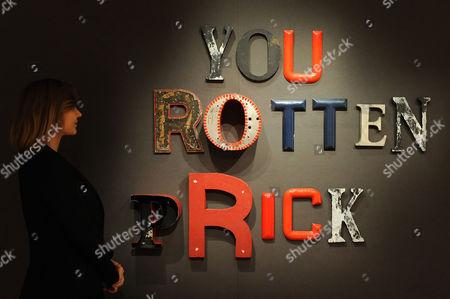 'You Rotten Prick', 2004, by Jack Pierson