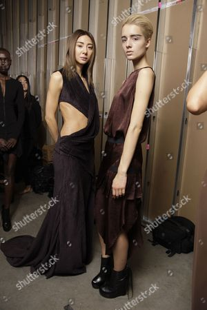Editorial image of Kimberly Ovitz Autumn Winter 2012 Show, New York Fashion Week, America - 09 Feb 2012