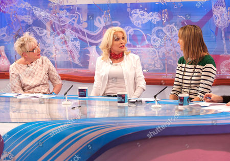 Jenny Eclair, Margi Clarke and Carol McGiffin